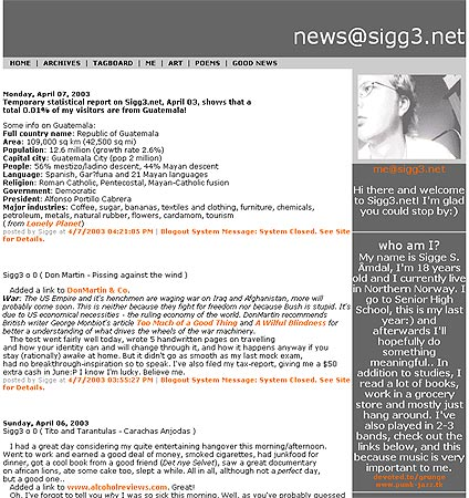 News at Sigg3.net version 1