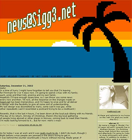 News at Sigg3.net version 2