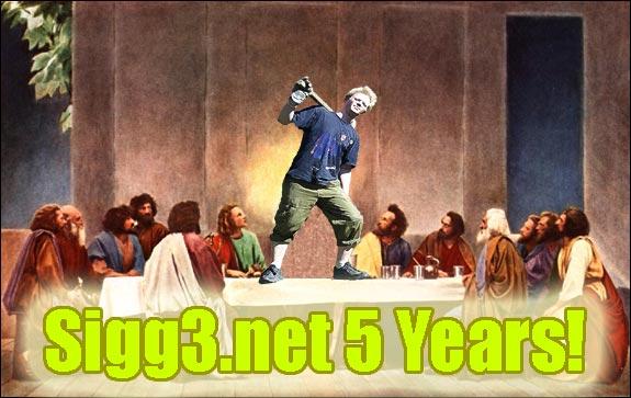 Sigg3.net 5 Years!